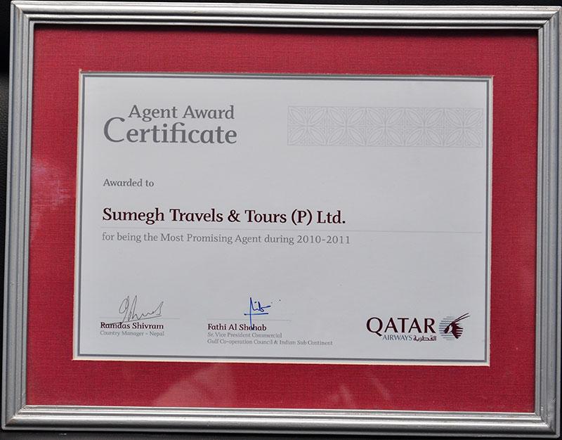 Qatar Airways 2010