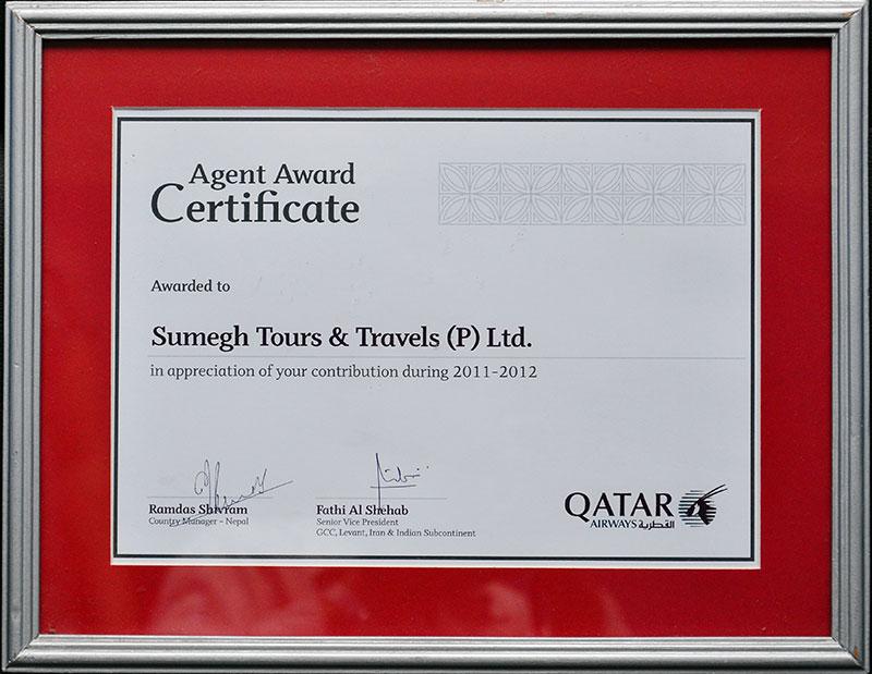 Qatar Airways 2011